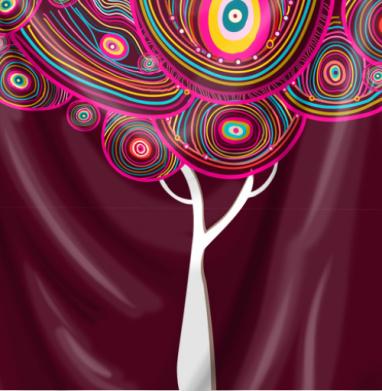 Радужное деревце - психоделика, Популярные