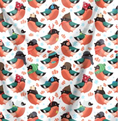 Снегири - птицы, Популярные
