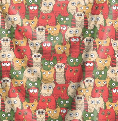 Яркие красные совы - птицы, Популярные
