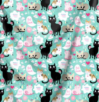 Забавные коты - иллюстация, Популярные