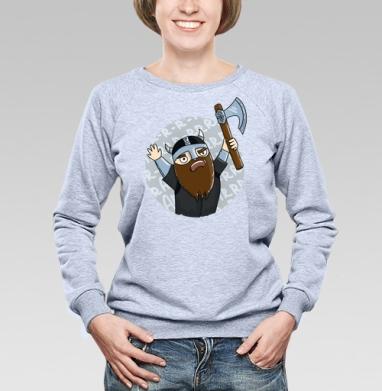 Викинги   (муж.) - Купить мужские свитшоты парные в Москве, цена мужских  парных  с прикольными принтами - магазин дизайнерской одежды MaryJane