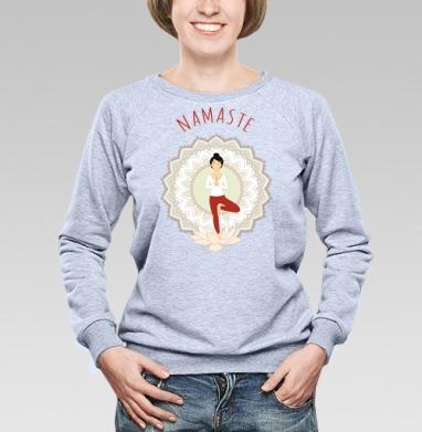 Поза дерева - Купить детские свитшоты паттерн в Москве, цена детских свитшотов с паттерном  с прикольными принтами - магазин дизайнерской одежды MaryJane
