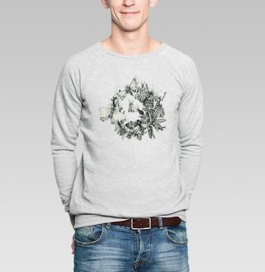 Мотыли - Купить мужские свитшоты с летом в Москве, цена мужских  с летом  с прикольными принтами - магазин дизайнерской одежды MaryJane