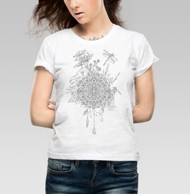 Русское поле - Купить детские футболки с узорами в Москве, цена детских футболок с узорами  с прикольными принтами - магазин дизайнерской одежды MaryJane