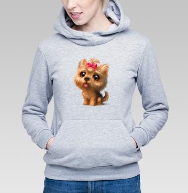 Йоркширский терьер - Купить детские толстовки с собаками в Москве, цена детских толстовок с собаками  с прикольными принтами - магазин дизайнерской одежды MaryJane