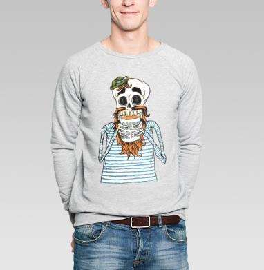 Кофе-брейк - Купить мужские свитшоты с черепом в Москве, цена мужских  с черепом  с прикольными принтами - магазин дизайнерской одежды MaryJane