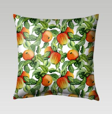 Яблоки - Подушки с принтом