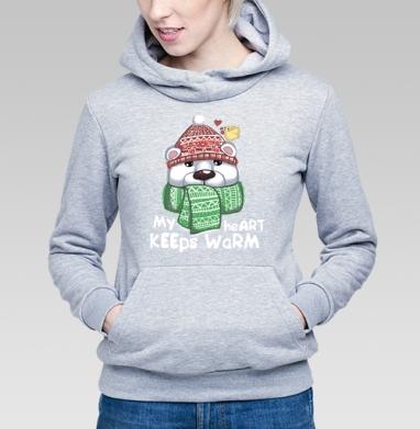 Тепло - Купить детские толстовки с медведем в Москве, цена детских  с медведем  с прикольными принтами - магазин дизайнерской одежды MaryJane