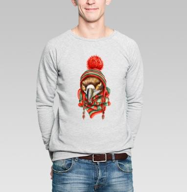 В ожидании зимы - Купить мужские свитшоты с птицами в Москве, цена мужских свитшотов с птицами  с прикольными принтами - магазин дизайнерской одежды MaryJane