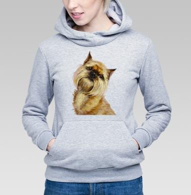 Брюссельский гриффон - Купить детские толстовки с собаками в Москве, цена детских толстовок с собаками  с прикольными принтами - магазин дизайнерской одежды MaryJane