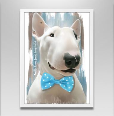 Истинный джентльмен  - Постер в белой раме