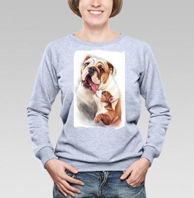 Материнская любовь - Купить детские свитшоты с собаками в Москве, цена детских свитшотов с собаками  с прикольными принтами - магазин дизайнерской одежды MaryJane