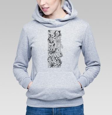 Стрекоза в зарослях - Купить детские толстовки с графикой в Москве, цена детских толстовок с графикой  с прикольными принтами - магазин дизайнерской одежды MaryJane