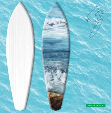 Танец пены морской - Наклейки на серф