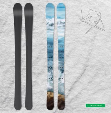 Танец пены морской - Наклейки на лыжи