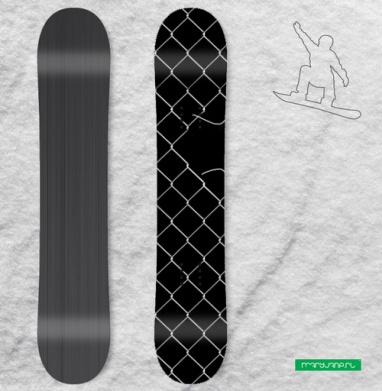 Путь к сердцу - Виниловые наклейки на сноуборд купить с доставкой. Воронеж