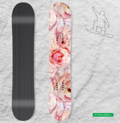 Розы аромат - Наклейки на доски - сноуборд, скейтборд, лыжи, кайтсерфинг, вэйк, серф
