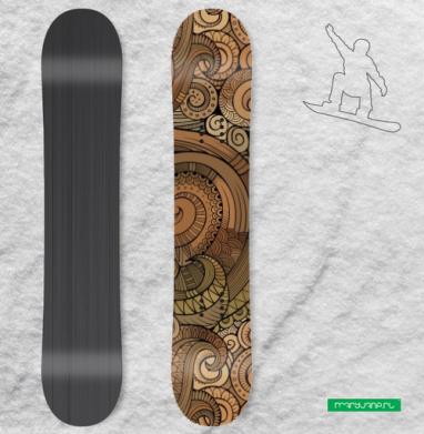 Спираль - Наклейка на сноуборд, olkabalabolka, Новинки
