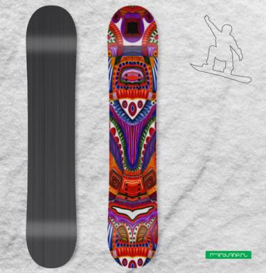 Ткань мира - Наклейки на доски - сноуборд, скейтборд, лыжи, кайтсерфинг, вэйк, серф
