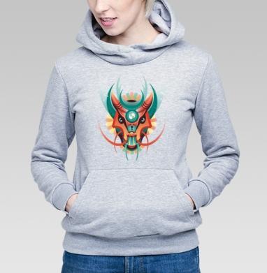 Дракон в геометрическом стиле - Купить детские толстовки с лицом в Москве, цена детских толстовок с лицом  с прикольными принтами - магазин дизайнерской одежды MaryJane