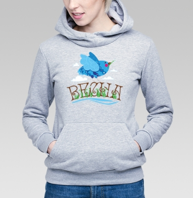 Птица весна - Купить детские толстовки с надписями в Москве, цена детских толстовок с надписями  с прикольными принтами - магазин дизайнерской одежды MaryJane