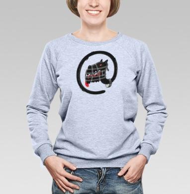 Собачка - Купить женские свитшоты с приколами в Москве, цена женских свитшотов с приколами с прикольными принтами - магазин дизайнерской одежды MaryJane
