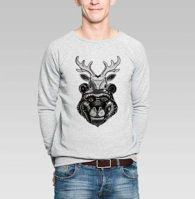 Забодай - Купить мужские свитшоты с природой в Москве, цена мужских свитшотов с природой  с прикольными принтами - магазин дизайнерской одежды MaryJane