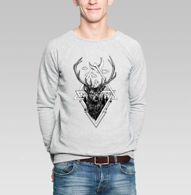 Ред стаг - Купить мужские свитшоты нежность в Москве, цена мужских свитшотов нежность  с прикольными принтами - магазин дизайнерской одежды MaryJane