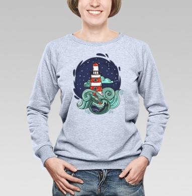 Маяк и большая медведица - Купить детские свитшоты с роботами в Москве, цена детских свитшотов с роботами с прикольными принтами - магазин дизайнерской одежды MaryJane