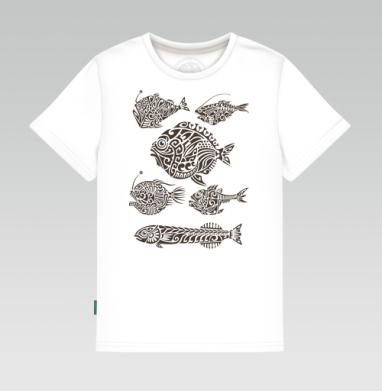 Глубоководные - Купить детские футболки с графикой в Москве, цена детских футболок с графикой  с прикольными принтами - магазин дизайнерской одежды MaryJane
