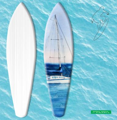 Тихая гавань - Наклейки на серф