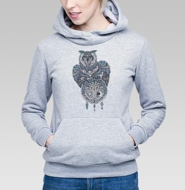 Сова и талисман - Купить детские толстовки с узорами в Москве, цена детских толстовок с узорами  с прикольными принтами - магазин дизайнерской одежды MaryJane