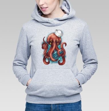Осьминог Вилли - Купить детские толстовки морские  в Москве, цена детских  морских   с прикольными принтами - магазин дизайнерской одежды MaryJane