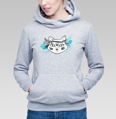 Северный котик - Толстовки женские с животными