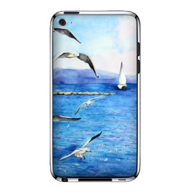 Морские чайки - Виниловые наклейки на iPod Touch 4