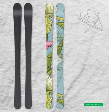Флора и фауна - Наклейки на лыжи