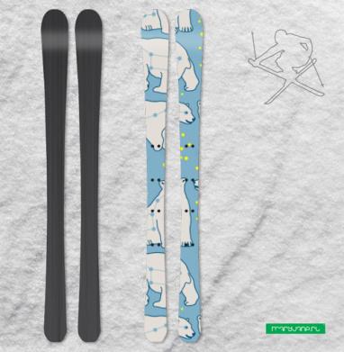 Мишки созвездия - Наклейки на лыжи