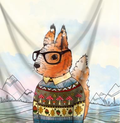 Белка в свитере - природа, Популярные