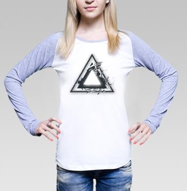Треугольник света - Футболки с длинным рукавом женские