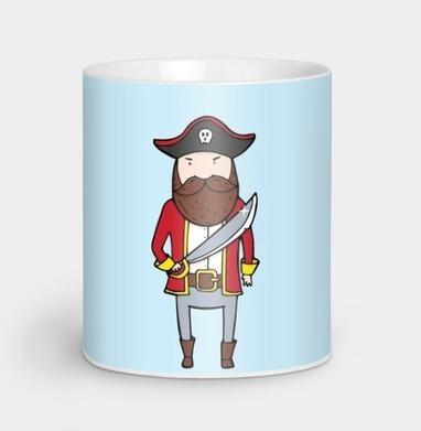 Пират с саблей - усы, Новинки