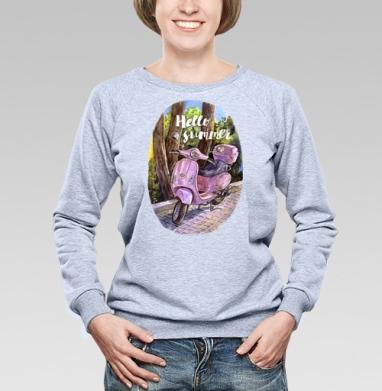 Здравствуй лето - Купить детские свитшоты с природой в Москве, цена детских свитшотов с природой  с прикольными принтами - магазин дизайнерской одежды MaryJane