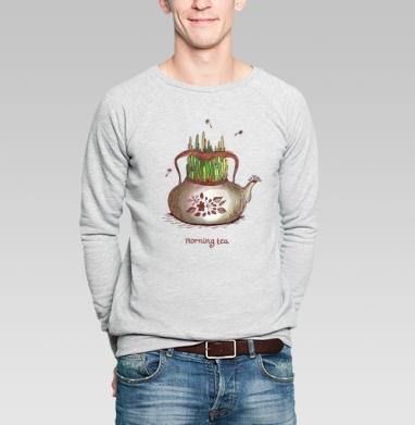 Летний чай - Купить мужские свитшоты с летом в Москве, цена мужских  с летом  с прикольными принтами - магазин дизайнерской одежды MaryJane