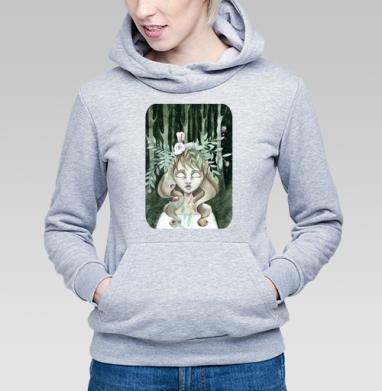 Зеленая лесная нимфа - Купить детские толстовки с любовью в Москве, цена детских  с любовью  с прикольными принтами - магазин дизайнерской одежды MaryJane