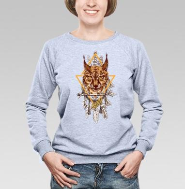 Лесная рысь - Купить детские свитшоты с животными в Москве, цена детских свитшотов с животными  с прикольными принтами - магазин дизайнерской одежды MaryJane