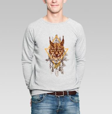Лесная рысь - Купить мужские свитшоты нежность в Москве, цена мужских  нежность  с прикольными принтами - магазин дизайнерской одежды MaryJane
