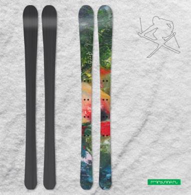 Южный ветер - Наклейки на лыжи