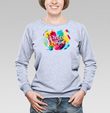 И-Стерео лето - Купить детские свитшоты с летом в Москве, цена детских свитшотов с летом  с прикольными принтами - магазин дизайнерской одежды MaryJane