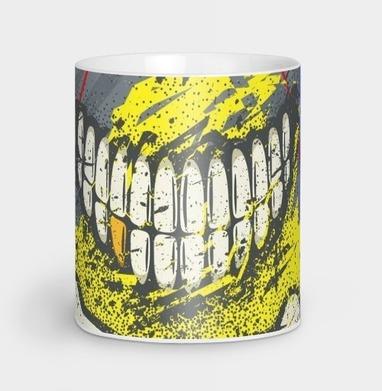 Костяная улыбка (гранж версия) - череп, Новинки