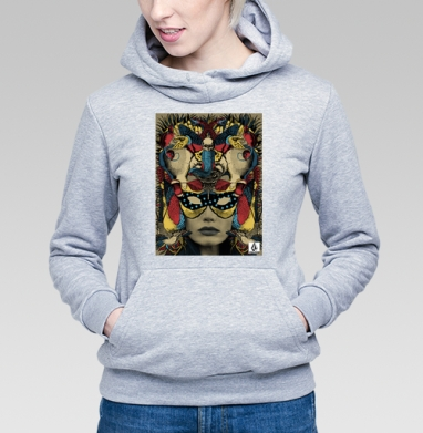 Самоделка visuel-masque.jpg - Купить женскую толстовку