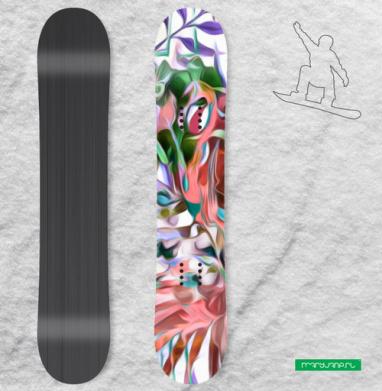 Тайна тропиков - Наклейки на доски - сноуборд, скейтборд, лыжи, кайтсерфинг, вэйк, серф